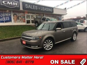 2013 Ford Flex Limited   AWD, HEATED LEATHER SEATS, NAVIGATION!