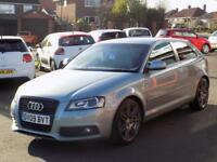 2009 09 AUDI A3 2.0 TDI S LINE SPECIAL EDITION 3DR 140 DIESEL