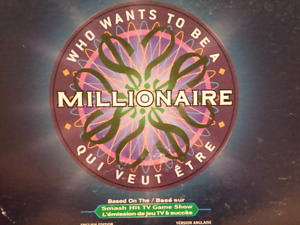 Who wants to be a MILLIONAIRE - Board Game