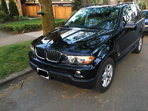 2006 BMW X5 SUV - low mileage