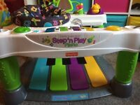 Fisher Price - Step 'n Play Piano activity centre