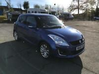 2015 Suzuki Swift 1.3TD ( 75ps ) SZ4 Finance Available