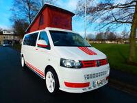 2012 12'reg VW Transporter T5.1 2.0 TDi *LWB* Pop Top* Campervan*4 Berth*