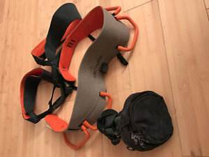 Arc'teryx R300 Harness and chalk bag