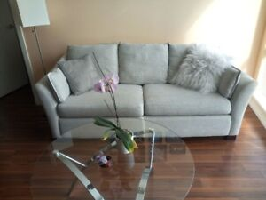 Great Deal on a Hudson Bay Grey Sofa