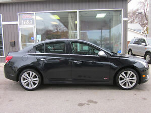 2012 Chevrolet Cruze LT Turbo + W/1SB Package