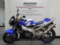 07 REG APRILIA TUONO 1000 V TWIN AWESOME AKRAPOVICS AND BEST COLOUR SOUNDS ACE