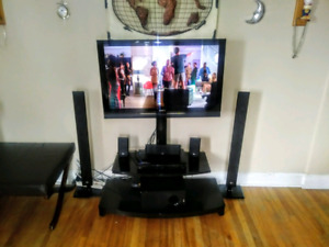42 inch Sony /full mounting stand/LG 5. 1  Surround System