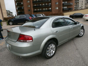 2005 Chrysler Sebring, Low Kilometers ( Safetied & E-Tested )