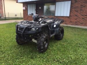 2007 Kingquad 450 4x4 Low kms