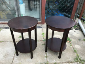 2 Side Tables or Nightstand better than Ikea Coffee Center Table