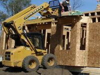 All Bobcat Services - Leveling, removing, spreading and digging