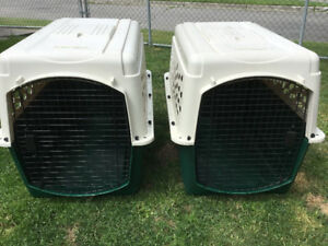 Dog Crates ( 2-available)