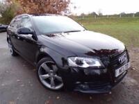 2011 Audi A3 2.0 TDI 170 Quattro Black Edition 5dr [Start Stop] BOSE Sound! F...