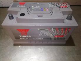 Yuasa car battery 12v 85ah 800A