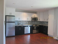 Completely renovated 3 bedroom apartment available Sep. 1
