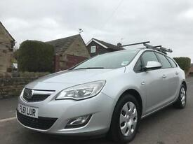 2011 VAUXHALL ASTRA 1.7 CDTI ECOFLEX 16V EXCLUSIVE 5DR
