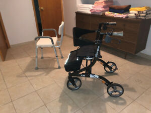 Rollator and Shower Chair