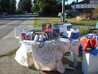4 DAY GARAGE SALE 2312 ROSSTOWN RD NANAIMO