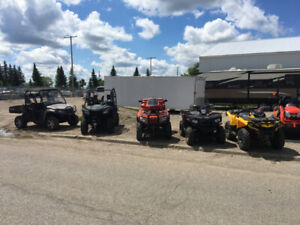 USED ATV'S AND SIDE X SIDES