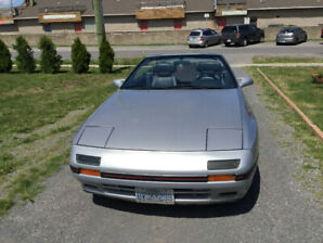 88 Mazda convertible RX 7 nice shape,everyday driver.