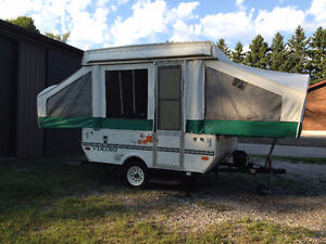 2004 Viking Epic 1706 Tent Trailer 8 ft