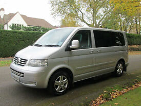 2008/58-REG Volkswagen Caravelle 2.5TDI 174PS Auto Executive Bus. 7 Seater. DSG.