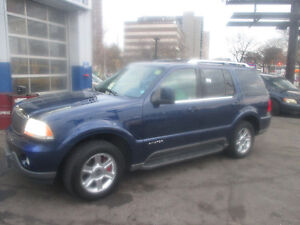 04 Lincoln Aviator LEATHER SUNROOF SAFETY+ETEST+1YEARWARRANTY