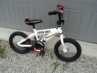 "Boys 14"" Bike - ALL ready to go! CALLS ONLY PLEASE 519-250-5890"