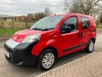 2010 Fiat Fiorino 1.3 Multijet 5dr [5 seat] Red MPV Diesel Manual