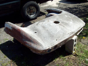 63 corvette rear section