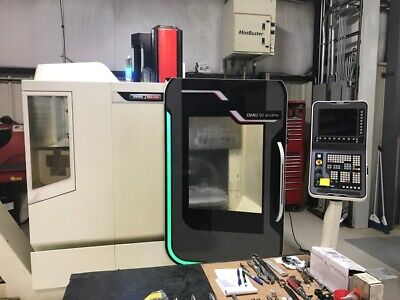 Used Dmg Dmu 50 Ecoline Cnc Vertical 2013 5-axis 20.18.16 8000 Rpm Probes Chip
