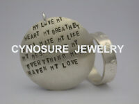 Jewelry Making - Silver Stamped Ring & Pendant Workshop
