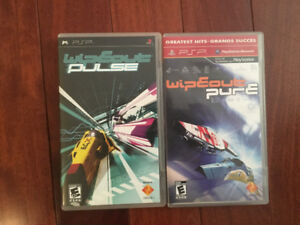 WipEout Pure and WipEout Pulse Bundle (PSP)