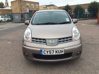 Ford Nissan note 2008 petrol full-service history 1.6 automatic low mileage good condition