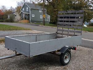4ftx8ft utility trailer