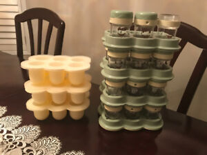 Brand New Baby Bullet Storage Containers & Freezer Trays