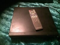 For sale one DVD player and recorder