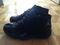 Nike air jordan retro 11 Gamma blue size 10