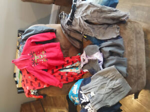 Assorted box of boys clothing - size 4