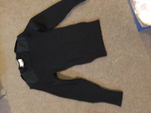 Combat pants and sweater