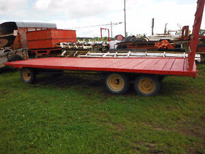 3 Hay wagons
