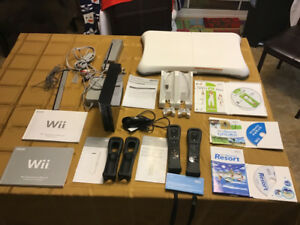 Wii system and accessories