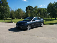 2008.5 Mazda 3 GS One owner, 5spd, LOW KMS, sunroof, priv sale!