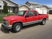 1996 Chev 2500 Extended Cab 2 Wheel Dr