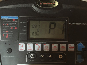 Treadmill (hardly ever used)