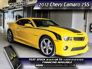 2012 Chevrolet Camaro 2SS W/Ground Effects  - $272.76 B/W - Low