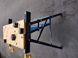 Mastercraft Folding Workbench