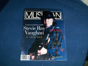 STEVIE RAY VAUGHAN-MUSICIAN MAGAZINE-ISSUE NO. 152-JUNE 1991