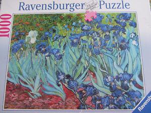 Casse-tête Ravensburger 1000 morceaux- Iris Van Gogh